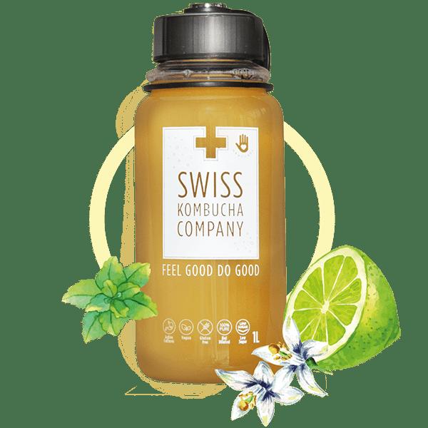 Lime Elderflower Mint (1L bottle)