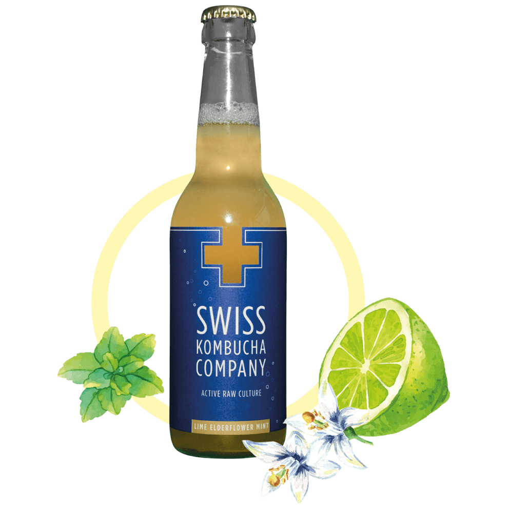 Lime Elderflower Mint 330ml