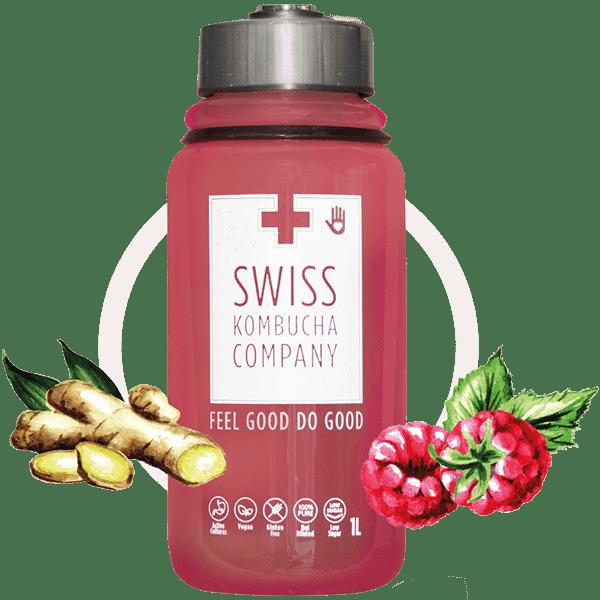 Raspberry Ginger (1L bottle)